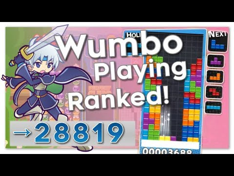 Puyo Puyo Tetris – Wumbo Ranked! 28783➜28819 (PC)