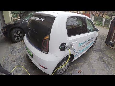 Volkswagen e-UP 🔋 Ismerkedtünk az elektromos autók világával 👌