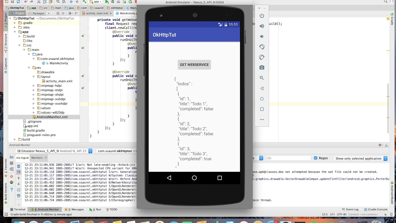 Use OkHttp to make Network Requests on Android - Sylvain
