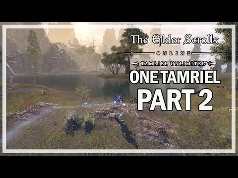 The Elder Scrolls Online One Tamriel - Lets Play Part 2 - CRAGLORN SOLO