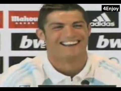 Cristiano Ronaldo is forbidden to speak English - El Clasico preview