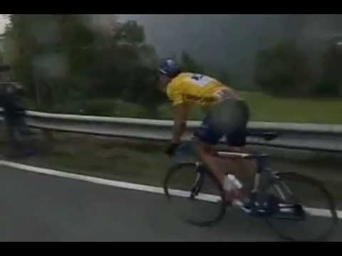 Lance Armstrong Sestriere Climb 1999