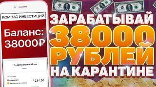ЗАРАБОТОК на просмотре видео и рекламы 38000 рублей! Как заработать в интернете без вложений