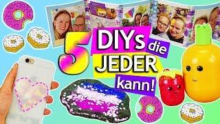 5 DIYS, die JEDER machen kann | Einfache IDEEN zum nachmachen & verschenken DIY Inspiration deutsch