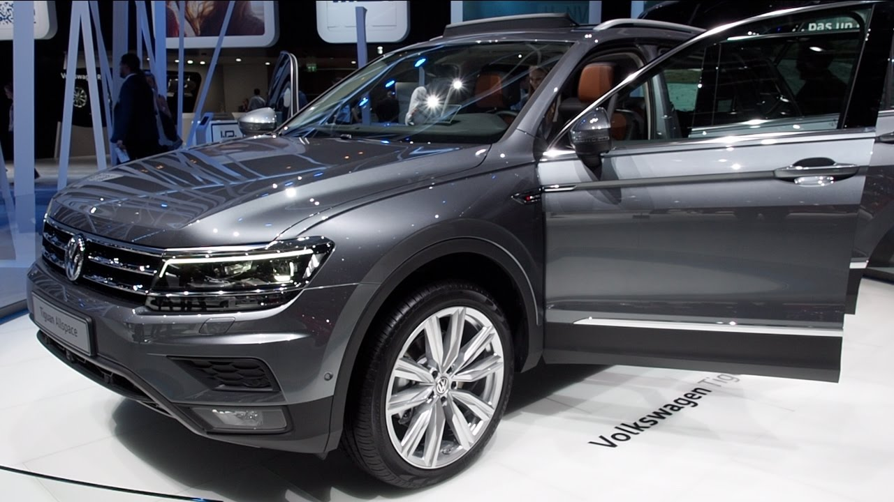 The All New 2017 Volkswagen Tiguan Allspace In Detail