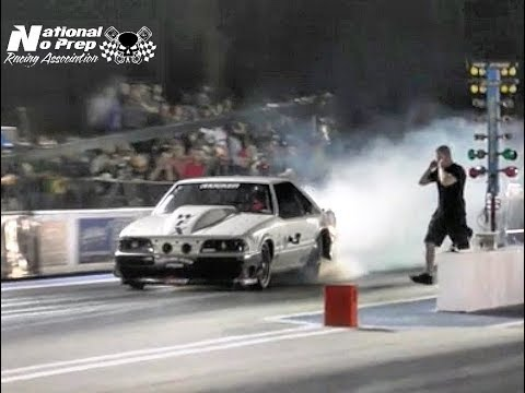 Death Trap Chuck vs Larry Baker twin turbo Impala at Orangeburg No Prep Kings Filming