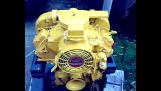 Bernard moteurs W32 V twin diesel
