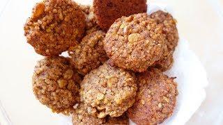 Рецепт! Овсяное печенье на яблоках | БЕЗ ЯИЦ И ГЛЮТЕНА | #107