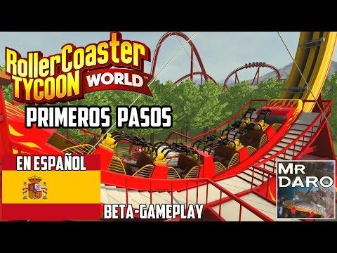 Roller Coaster Tycoon World | En Español | Gameplay Beta | Directo