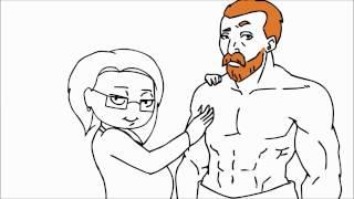 [Domics] Учитель рисования (закадровый перевод)