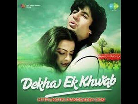 Dekha Ek Khwab To Lyrics | Silsila (1981) Songs Lyrics ...