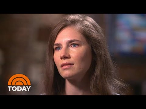 Amanda Knox Says 'It's Hard To Trust' In 1st Interview Since Return To Italy | TODAY