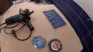 видео Резка плитки в домашних условиях: выбираем инструмент