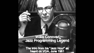 Willis Conover_VOA Jazz Hour intro_June 1981.flv