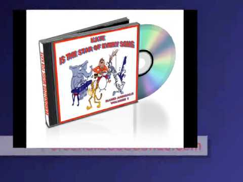 Ultimate Personalized Children's Music CD