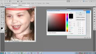 Как удалить с фото эффект красных глаз в фотошопе