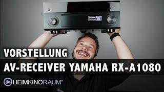 AV-Receiver Yamaha RX-A1080 mit Surround AI