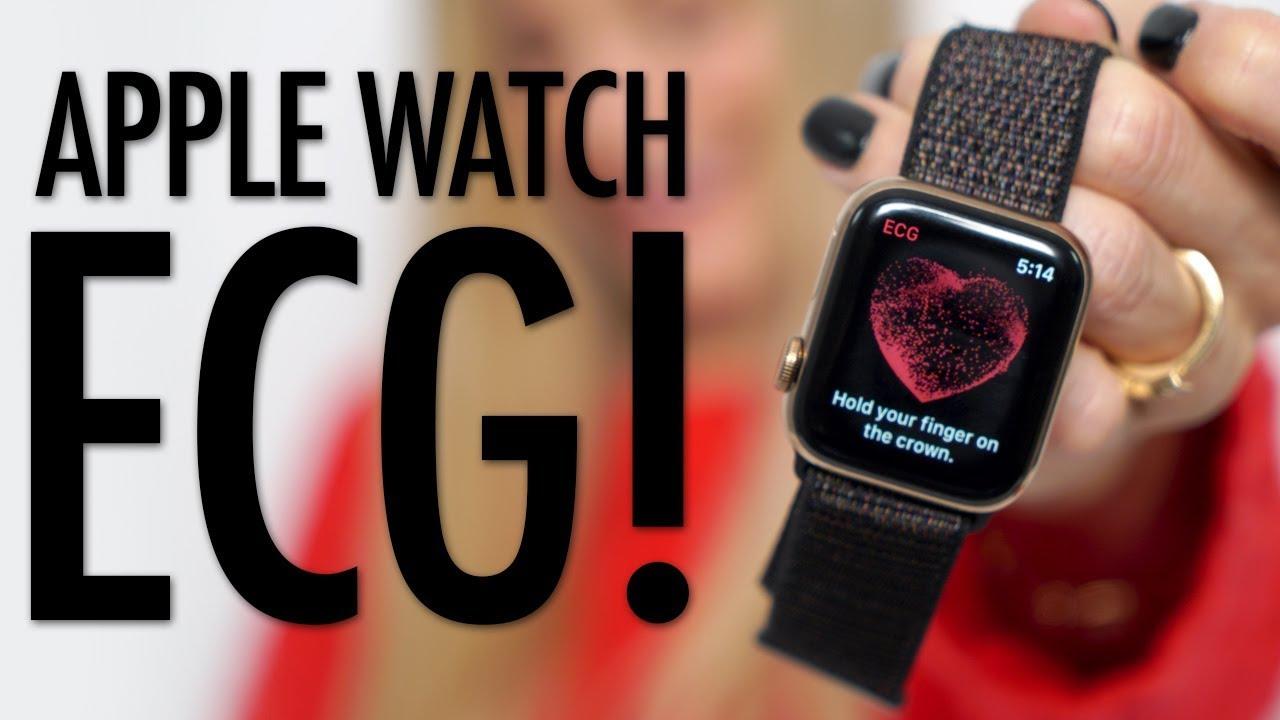 Testing the new Apple Watch ECG!
