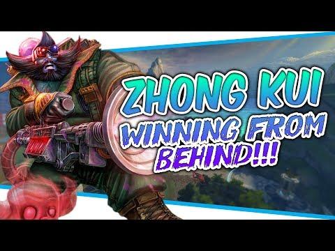 Zhong Kui: WINNING FROM BEHIND! - Smite