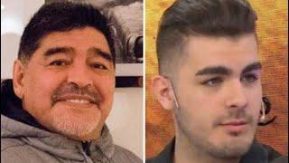 Diego Maradona se hará un examen de ADN para saber si es padre de Santiago Lara