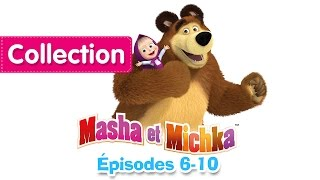 Masha et Michka - Collection 1 (6-10 épisodes) 30 minutes de dessins animés
