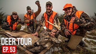 GUN HUNTING DEER on Public Land! Wind Bump Success - DEER TOUR E53
