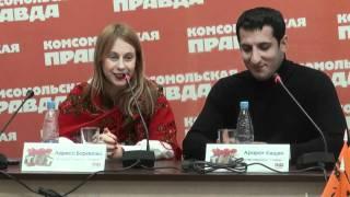 """Арарат Кещян и Лариса Баранова - """"М"""" и """"Ж"""" в Универе"""