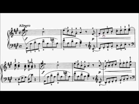 LCM Piano 2018-2020 Grade 5 List A2 Mozart Allegro Viennese Sonatina No.2 in A Movt 1 Sheet Music