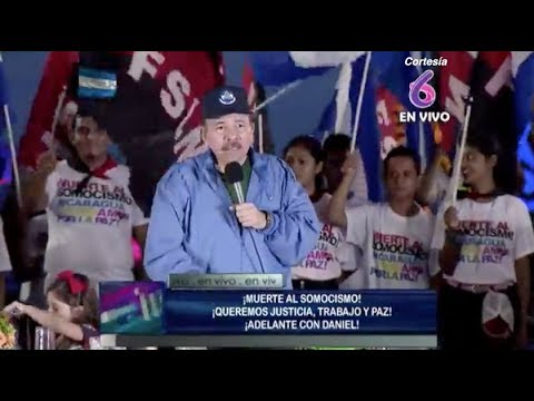 Discurso de Daniel Ortega en acto de los sandinistas