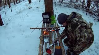 Вылазка в лес | турбо печка BRS 116 | пеший поход | бушкрафт