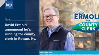 Gay man who was denied marriage license by Kim Davis is now running against her