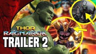 ЧТО ПОКАЗАЛИ ВО 2м ТРЕЙЛЕРЕ ТОР 3 РАГНАРЁК, ТРЕЙЛЕР фильма Thor 3 Ragnarok, Марвел, Marvel