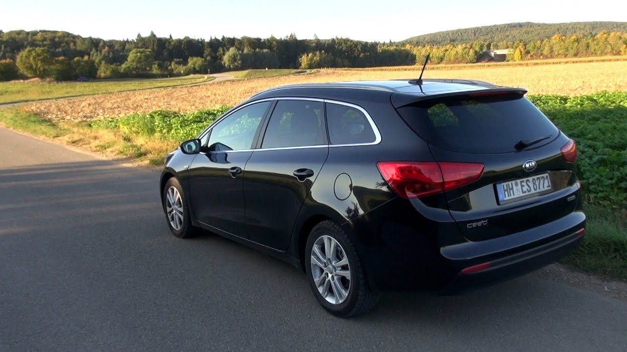 2015 kia cee 39 d sw 1 6 gdi 135 hp test drive youtube. Black Bedroom Furniture Sets. Home Design Ideas
