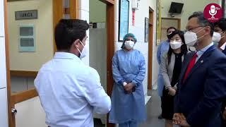 Tema: Embajador de Corea en el Perú recorrió instalaciones de la UNMSM