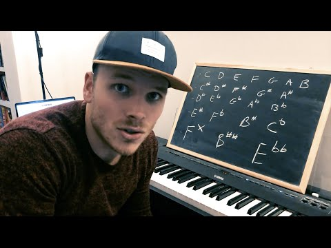 Piano Notes You Never Heard Of! - Living Room Piano #1