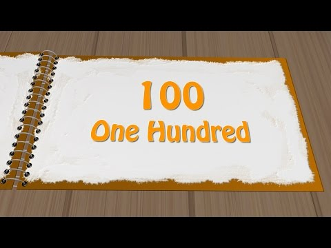 1 to 100 numbers with spellings