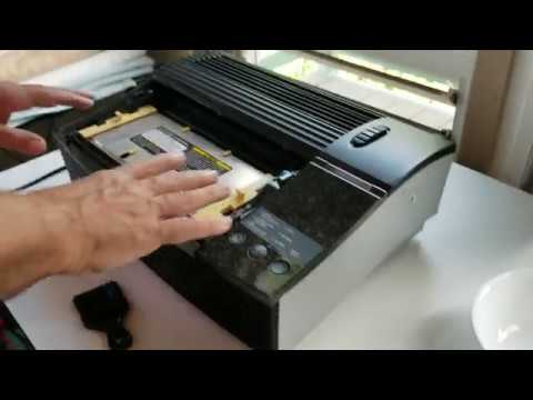 Best Demo on How to Clean an Oreck XL Professional Air Purifier AIRP Table Top