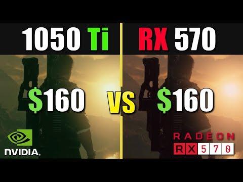 GTX 1050 Ti vs RX 570 Test in 2019