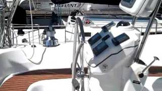 Hunter 50cc Video Walk-through By: Ian Van Tuyl at Cruising Yachts
