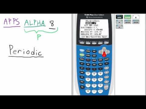 Ti 84 graphing calculator youtube video lessons cynthia periodic table app ti 84 calculator 27 urtaz Choice Image
