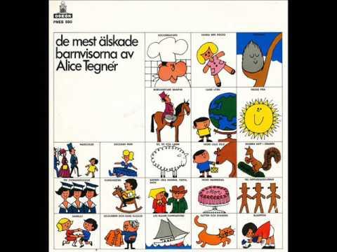 De mest älskade barnvisorna av Alice Tegnér