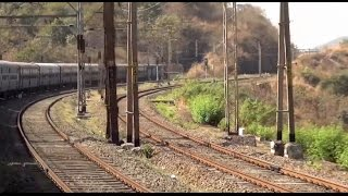 Express Train In & Out of 23 TUNNELS ! Breathtaking BHOR GHAT (Karjat - Lonavala) Journey Experience