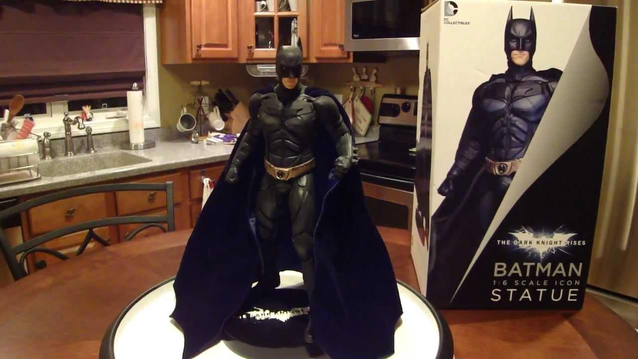 e5bace6f7cff Batman The Dark Knight Rises 1 6 Scale Icon Statue by DC ...