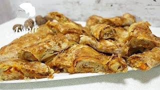 El Açması balkabakli Kol Böreği en iyi şekilde nasıl yapılır? El Açması Börek Yapılışı#Balkabaklı Tatlı Börek