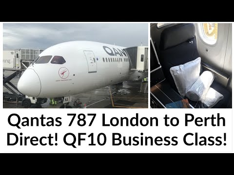 QF10 Trip Report - Qantas 787 London to Perth Business Class Review