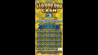 $30 - $10,000,000  CASH Lottery Scratch Off instant win tickets Bengal cat Holly
