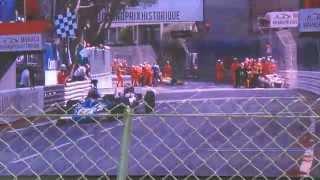 monaco hgp 2014 ferrari 312 b2 crash