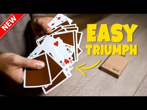 Magic Tutorial - How To Do An EASY Triumph Trick thumbnail