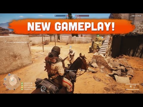 NEW BF1 GAMEPLAY FROM THE GAMESCOM LIVESTREAM! - Battlefield 1 (Multiplayer Gameplay)