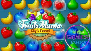 Fruits Mania : Elly's travel  BitMango @kids games 2000 screenshot 4